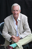 JON SNOW, Channel 4 journalist / news presenter. Edinburgh International Book Festival 2005, Edinburgh, Scotland.