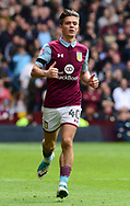 Jack Grealish of Aston Villa in action.  EFL Skybet championship match, Aston Villa v Birmingham city at Villa Park in Birmingham, The Midlands on Sunday 23rd April 2017.<br /> pic by Bradley Collyer, Andrew Orchard sports photography.