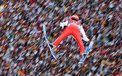 06.01.2016, Olympiaschanze, Garmisch Partenkirchen, GER, FIS Weltcup Ski Sprung, Vierschanzentournee, Bewerb, im Bild Andreas Wank (GER) // Andreas Wank of Germany during his Competition Jump of Four Hills Tournament of FIS Ski Jumping World Cup at the Olympiaschanze, Garmisch Partenkirchen, Germany on 2016/01/01. EXPA Pictures © 2016, PhotoCredit: EXPA/ JFK