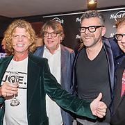 NLD/Amsterdam/20171016 - Boekpresentatie PicStory van William Rutten, Tony Peroni, Henk Westbroek, William en Henk Temming