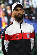 Benoit Paire (French) during the 2018 Davis Cup, semi final tennis match between France and Spain on September 14, 2018 at Pierre Mauroy stadium in Lille, France - Photo Laurent Lairys / ProSportsImages / DPPI