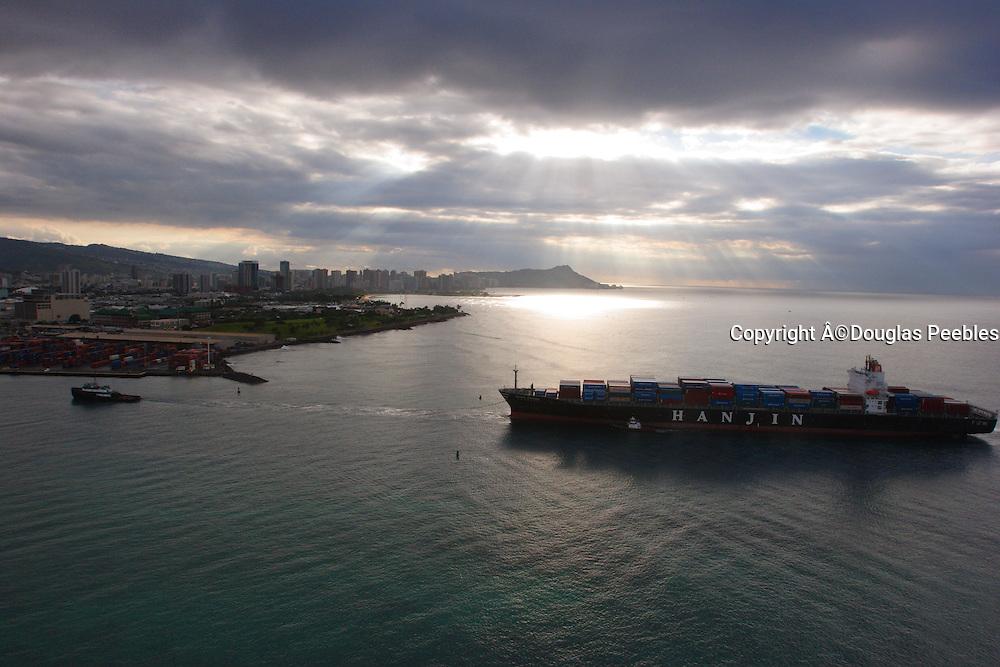 Shipping, Honolulu, Oahu, Hawaii