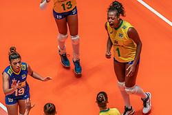 28-05-2019 NED: Volleyball Nations League Netherlands - Brazil, Apeldoorn<br /> <br /> Mara Ferreira Leao #1 of Brazil