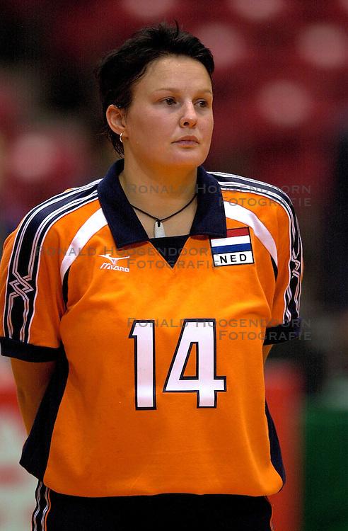 17-06-2000 JAP: OKT Volleybal 2000, Tokyo<br /> Nederland - Italie 2-3 / Riette Fledderus
