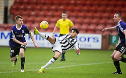 Dunfermline's Faissal El Bahktaoui. <br /> Dunfermline 3 v 2 Ayr United, Scottish League One played at East End Park, 13/2/2016.