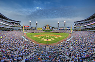 CHICAGO - JUNE 04:  (EDITORS NOTE: This image has been digitally enhanced for aesthetic purposes). A general view of U.S. Cellular Field as 31,037 fans watch the Detroit Tigers play the Chicago White Sox on June 4, 2011 at U.S. Cellular Field in Chicago, Illinois.  The Tigers defeated the White Sox 4-2.  (Photo by Ron Vesely)