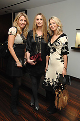 Left to right, STEPHANIE COATEN, BRYONY DANIELS and ISABELLE COATEN at a Valentine's Party in aid of Chickenshed held at De Beers, 50 Old Bond Street, London W1 on 6th Fbruary 2008.<br /><br />NON EXCLUSIVE - WORLD RIGHTS