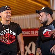 NLD/Almere/20190117 - Stare down van Boxing Influencers, ....... en Ezkimo