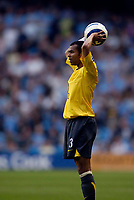 Photo: Jed Wee.<br /> Manchester City v Arsenal. The Barclays Premiership. 04/05/2006.<br /> <br /> Arsenal's Ashley Cole makes his first start after a lengthy injury.