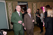GILBERT AND GEORGE, The South Bank Sky Arts Awards , The Dorchester Hotel, Park Lane, London. January 25, 2011,-DO NOT ARCHIVE-© Copyright Photograph by Dafydd Jones. 248 Clapham Rd. London SW9 0PZ. Tel 0207 820 0771. www.dafjones.com.