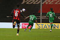 Football - 2020 / 2021 Sky Bet Championship - AFC Bournemouth vs. Preston North End - The Vitality Stadium<br /> <br /> Scott Sinclair of Preston chips Bournemouth's Asmir Begovic from distance to put Preston 2 up at the Vitality Stadium (Dean Court) Bournemouth <br /> <br /> COLORSPORT/SHAUN BOGGUST