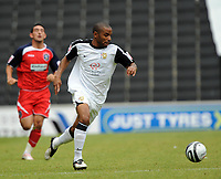 Milton Keynes Dons/Huddersfield Coca Cola League one  05.09.09 <br /> Photo: Tim Parker Fotosports International<br /> Jermaine Easter MK Dons 2009/10
