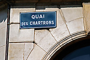 street sign bordeaux france