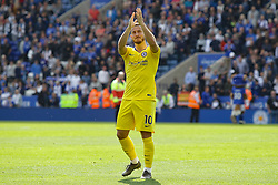 May 12, 2019 - Leicester, England, United Kingdom - Eden Hazard of Chelsea saying farewell to the travelling fans? during the Premier League match between Leicester City and Chelsea at the King Power Stadium, Leicester on Sunday 12th May 2019. (Credit Image: © Mi News/NurPhoto via ZUMA Press)