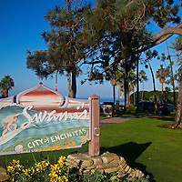 USA, California, Encinitas. Swami's Beach, Cardiff by the Sea (Encinitas).