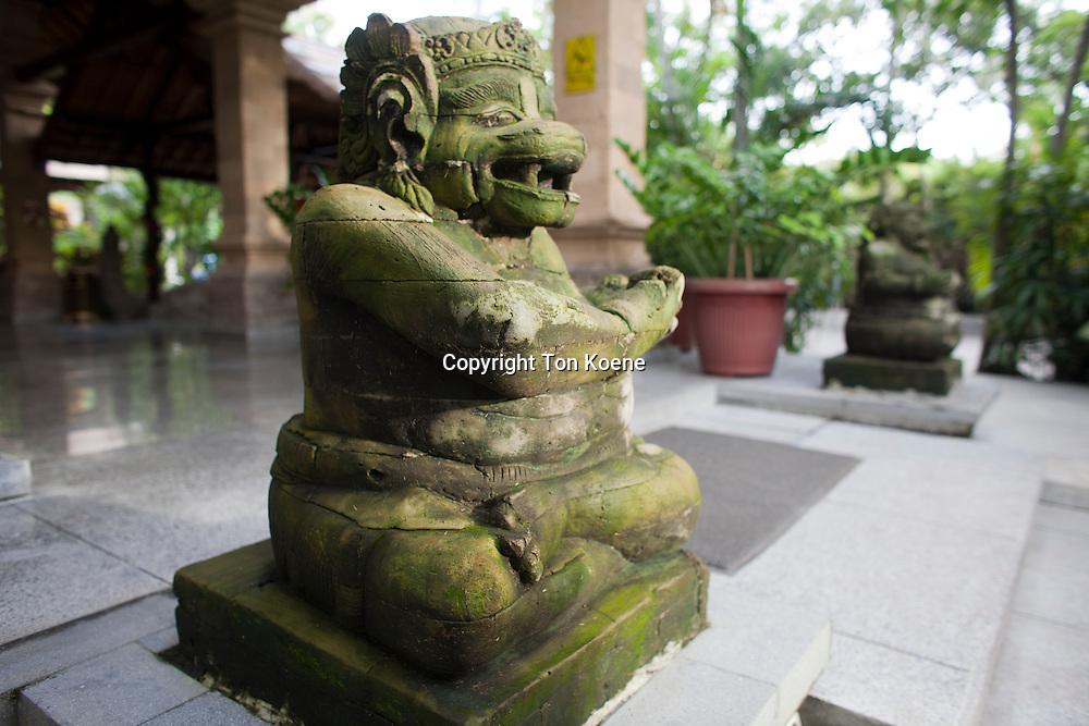 hindu statue at bali, indonesia