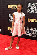 April 1, 2016- Newark, NJ: United States- Actress Marsai Martin attends the 2016 Black Girls Rock Red Carpet Arrivals held at NJPAC on April 1, 2016 in Newark, New Jersey. Black Girls Rock! is an annual award show, founded by DJ Beverly Bond, that honors and promotes women of color in different fields involving music, entertainment, medicine, entrepreneurship and visionary aspects.   (Terrence Jennings/terrencejennings.com)