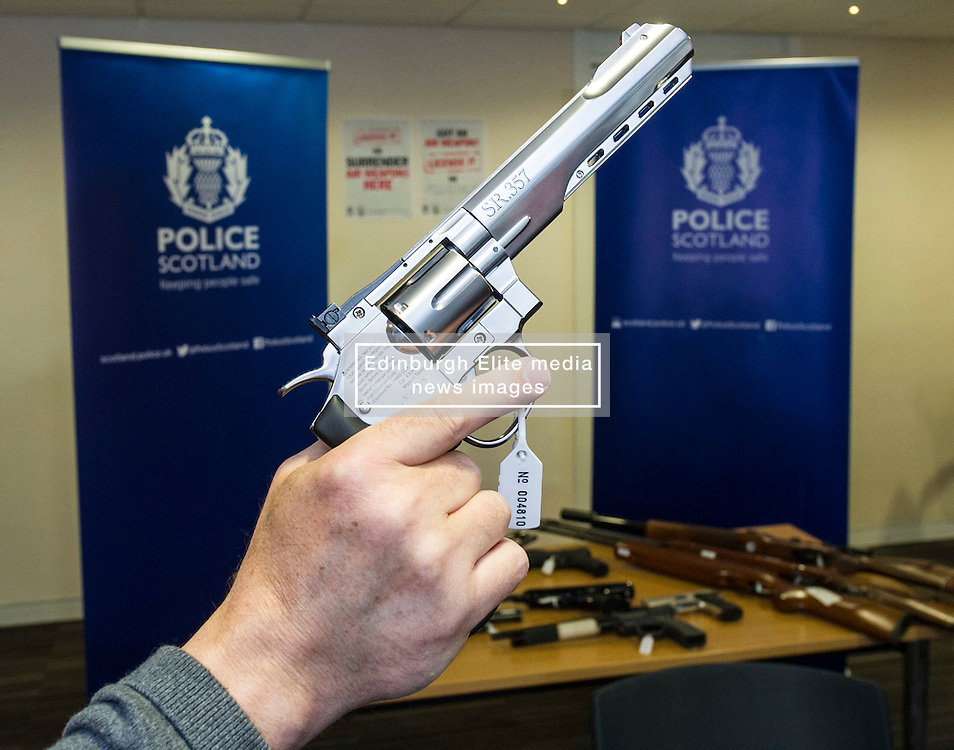 Pictured: <br /> Assistant Chief Constable Mark Williams today unveiled details of the three-week drive along with the designated stations where unwanted weapons can be handed in for secure disposal. <br /> <br /> Ger Harley | EEm 19 May  2016