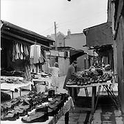 Moore St., street stalls.23.02.1961