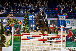 HANEBORGER Inken (GER), Diarado's Girl<br /> Finale HGW-Bundesnachwuchschampionat der Springreiter <br /> gefördert durch die Horst-Gebers-Stiftung <br /> In Memoriam Debby Winkler<br /> Stilspringen Kl. M*<br /> Nat. style jumping competition Kl. M*<br /> Braunschweig - Classico 2020<br /> 08. März 2020<br /> © www.sportfotos-lafrentz.de/Stefan Lafrentz