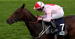 Dream Today ridden by P.J. McDonald wins The British Stallion Studs EBF Convivial Maiden Stakes during day three of the 2017 Yorkshire Ebor Festival at York Racecourse.