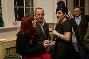 KIM SION; JOHNNY SHAND KYDD; SHARLEEN SPITERI. Kate Grand hosts a Love Tea and Treasure hunt at Flash. Royal Academy. Burlington Gardens. London. 10 december 2008 *** Local Caption *** -DO NOT ARCHIVE-© Copyright Photograph by Dafydd Jones. 248 Clapham Rd. London SW9 0PZ. Tel 0207 820 0771. www.dafjones.com.<br /> KIM SION; JOHNNY SHAND KYDD; SHARLEEN SPITERI. Kate Grand hosts a Love Tea and Treasure hunt at Flash. Royal Academy. Burlington Gardens. London. 10 december 2008