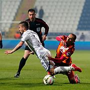 Galatasaray's Umut Bulut (R) during their Turkish Superleague soccer match Kasimpasa SK between Galatasaray at the Recep Tayyip Erdogan stadium in Istanbul Turkey on Saturday 21 March 2015. Photo by Aykut AKICI/TURKPIX