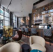HOTEL SPA CASINO INTERIOR VIEW OF LOUNGE BAR - MOTEL ONE HOTELN - GLASGOW
