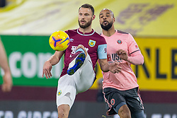 BURNLEY, ENGLAND - Tuesday, December 29, 2020: Burnley's Erik Pieters during the FA Premier League match between Burnley FC and Sheffield United FC at Turf Moor. Burnley won 1-0. (Pic by David Rawcliffe/Propaganda)