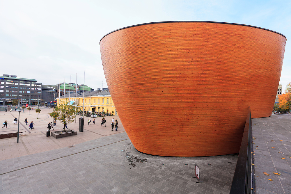 """The Kamppi Chapel  is a Lutheran chapel in Kamppi, Helsinki, Finland. It is also known as the """"Chapel of Silence"""" since it is intended to be a place to calm down and have a moment of silence in one of the busiest areas in Finland."""