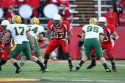 25 October 2008: Brandon Wilson closes the gap on Mike Meresh and Matt Phillips in a game which the North Dakota Bison defeated the Illinois State Redbirds at Hancock Stadium on campus of Illinois State University in Normal Illinois