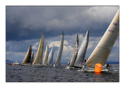 Largs Regatta Week 2011..IRC Class one start