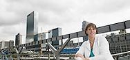 Nederland, Rotterdam, 20100920..Bergamin & Gielink pensioenrechtadvies B.V..Pauline van der Linden.Locatie: Centraal Station