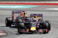 RICCIARDO daniel (aus) red bull renault rb11 action during 2015 Formula 1 FIA world championship, Malaysia Grand Prix, at Sepang from March 27th to 30th. Photo Francois Flamand / DPPI