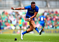 Rugby Union - 2019 pre-Rugby World Cup warm-up - Ireland vs. Italy<br /> <br /> Carlo Canna (Italy) attempts a conversion at The Aviva Stadium.<br /> <br /> COLORSPORT/KEN SUTTON