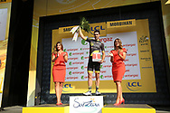 Podium, Jerome Cousin (FRA - Direct Energie) during the Tour de France 2018, Stage 4, Team Time Trial, La Baule - Sarzeau (195 km) on July 10th, 2018 - Photo Ilario Biondi / BettiniPhoto / ProSportsImages / DPPI
