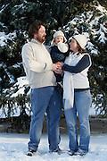 Shanna Johnson family portrait.. ©COLIN E BRALEY