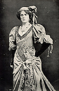 Lily Brayton (1876-1953) English actress. Made her debut in 1896 in Frank Benson's company. Married the actor Oscar Asche (1871-1936).  Brayton as Katharina in 'The Taming of the Shrew' by William Shakespeare.
