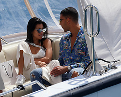 Kourtney Kardashian and Younes Bendjima seen at the Hotel du Cap-Eden-Roc in Antibes. 24 May 2017 Pictured: Kourtney Kardashian, Younes Bendjima. Photo credit: GoldStar Media / MEGA TheMegaAgency.com +1 888 505 6342