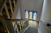 Nederland, Nijmegen, 19-2-2013Trappenhuis in een voormalig klooster.Foto: Flip Franssen/Hollandse Hoogte