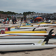 The Fifth Annual Waterman Eco-Challenge at the Narragansett Beach, , Rhode Island, USA, July17,2015.  Photo: Tripp Burman