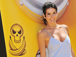 """Angie Harmon arrives at the """"Despicable Me 3"""" Los Angeles Premiere held at the Shrine Auditorium in Los Angeles, CA on Saturday, June 24, 2017.  (Photo By Sthanlee B. Mirador) *** Please Use Credit from Credit Field ***"""