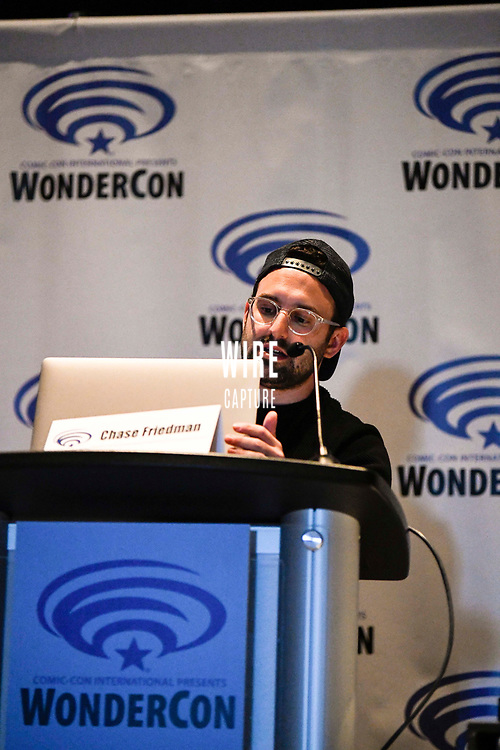 Chase Friedman at Wondercon in Anaheim Ca. March 31, 2019