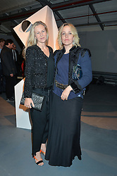 Left to right, ALANNAH WESTON and BAY GARNETT at the Women for Women International Catwalk Show & Auction in partnership with Brown's and sponsored by Swarovski held at The Vinyl Factory, Brewer Street Space, Brewer Street, London on 20th November 2014.