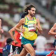 TOKYO, JAPAN August 3:   Morgan McDonald of Australia in action during the Men's 5000m round one heat two race at the Olympic Stadium during the Tokyo 2020 Summer Olympic Games on August 3rd, 2021 in Tokyo, Japan. (Photo by Tim Clayton/Corbis via Getty Images)