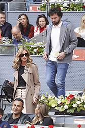 May 8, 2019 - Madrid, Spain - Sergio Llull during day five of the Mutua Madrid Open at La Caja Magica on May 08, 2019 in Madrid, Spain  (Credit Image: © Oscar Gonzalez/NurPhoto via ZUMA Press)