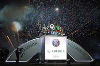 joie PSG - 23.05.2015 - PSG / Reims - 38eme journee de Ligue 1<br />