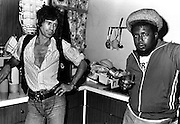 Keith Richards with Robbie Shakespear