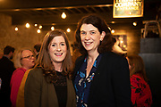 02/04/2019 Repro free:  <br /> Nicola Gavin FCS Corporate Services and Anna Holland  FCS Corporate Services at Harvest in the Mick Lally Theatre , an opportunity to share ideas for innovation and growth and discuss how to cultivate the city as a destination for innovation, hosted by GTC  and Sponsored by AIB and The Sunday Business Post .<br /> <br /> A keynote address Start Up to Multinational - Positioning & Marketing Software for an International Audience from Joe Smyth, VP of R&D at Genesysat Genesys and a Panel Discussion on International Growth Through Innovation and Positioning<br /> Mary Rodgers- Innovation Community Managerat the Portershed (moderator)<br /> Kathryn Harnett- Senior Consultantat Milltown Partners LLP, Giovanni Tummarello, Founder and CPOat Siren,  Mark Quick, Founding Director 9th Impact and Founding Director, Nephin Whiskey, Nicola Barrett, Senior Marketing Managerat Connacht Rugby<br />  Photo: Andrew Downes, Xposure