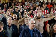 Fans of Sunderland during the EFL Cup match between Sheffield United and Sunderland at Bramall Lane, Sheffield, England on 25 September 2019.